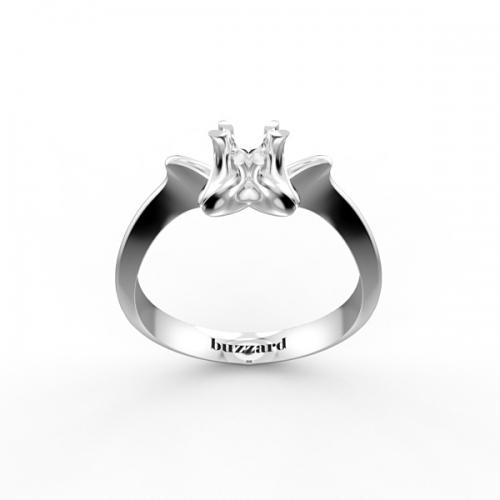 Оправа для кольца с бриллиантом МА22