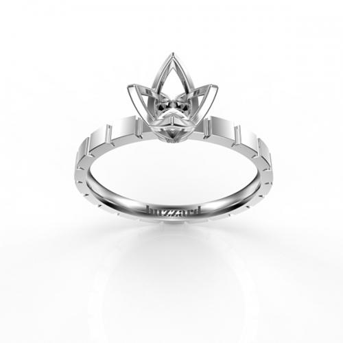 Креативная оправа для бриллианта МА30 авторский дизайн