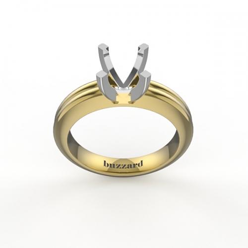 Оправа для кольца с бриллиантом МА31