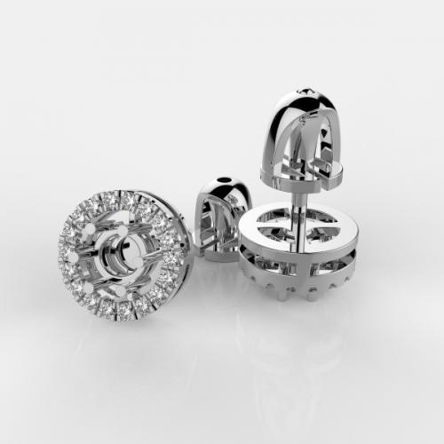 Роскошная оправа с бриллиантами