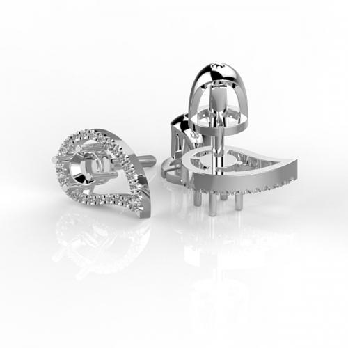 Роскошная оправа с бриллиантами PS19
