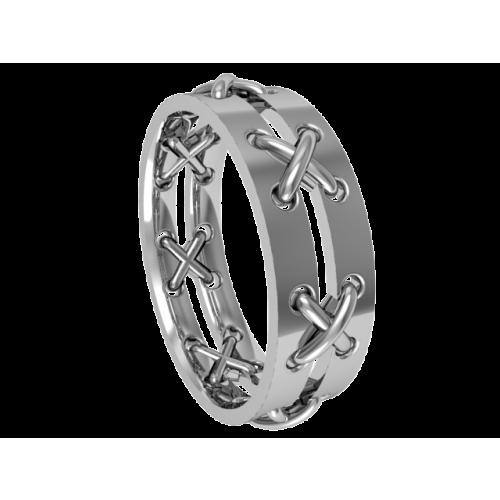 Кольцо обручальное NM22M