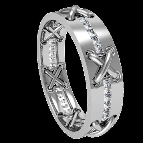 Кольцо обручальное NM23M