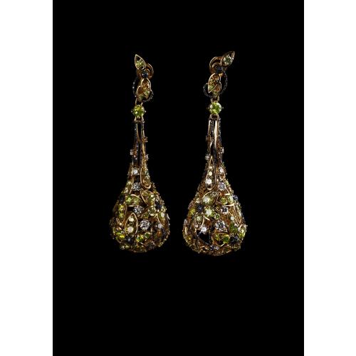 Эксклюзивные серьги с бриллиантами весом 27,10 карата Summertime