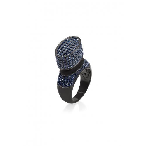 Эксклюзивное кольцо из серебра АА0101