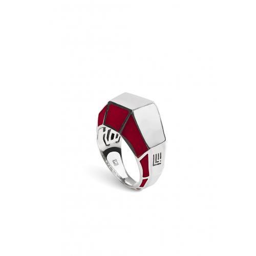 Эксклюзивное кольцо из серебра АА0107