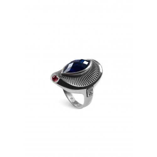 Эксклюзивное кольцо из серебра АА0108