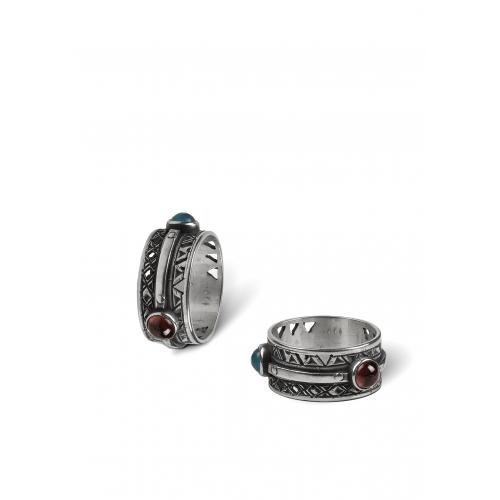 Эксклюзивное кольцо из серебра ОС0101