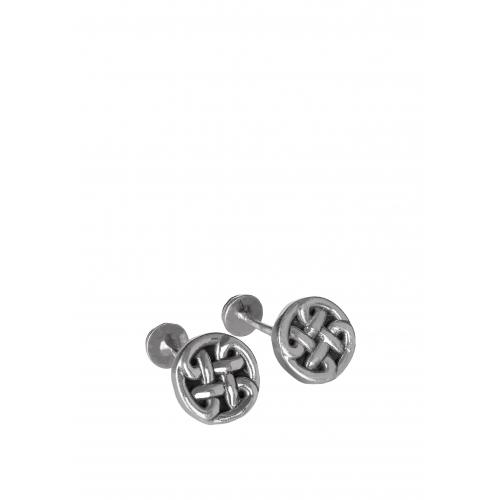 Эксклюзивные запонки из серебра ОС1004