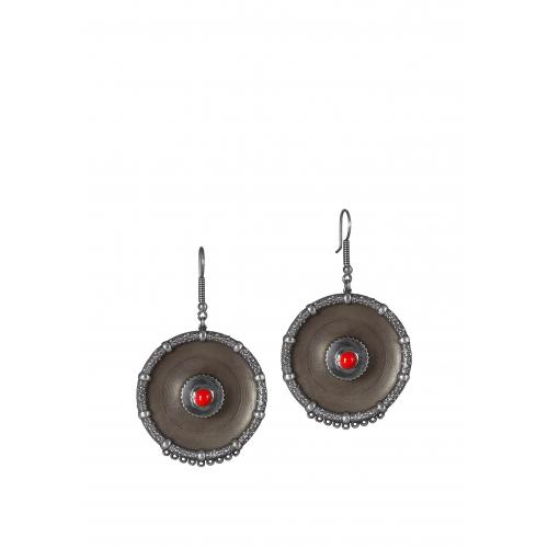 Эксклюзивные серьги из серебра АА0112