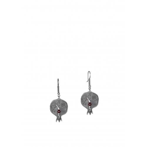 Эксклюзивные серьги из серебра ОС0302