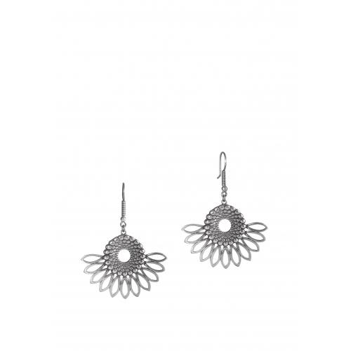 Эксклюзивные серьги из серебра ОС0333А