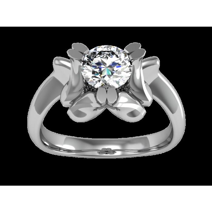 Купить кольцо с бриллиантом недорого