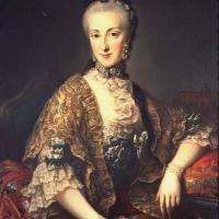 Портрет принцессы Австрии Марии Анны .
