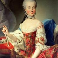 Портрет принцессы Австрии Марии Амалии.